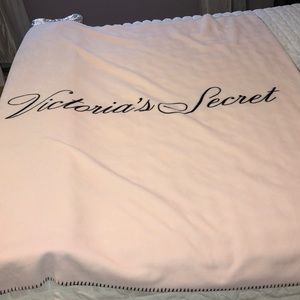 Victoria's Secret Fleece Blanket
